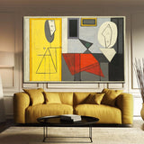 'Classic PICASSO Abstract King ' Painting Wall Art