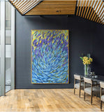 Famous Picasso Abstract Fish Ocaen Sea Blue