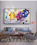 Kandinsky Abstract Famous Canvas Painting