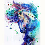 Abstract Horse Painting decoration 40X50 no frame