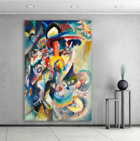Embelish Wassily Kandinsky Abstract Oil Painting Modern