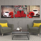 Canvas Painting  Still Life Coffee