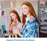 Personality Photo Customized DIY Oil Paint Paintings By Numbers