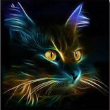 The Cat Spray painting by 5D diamond