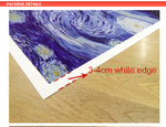 Starry night Wall Painting Vincent Willem Van Gogh Printed wall