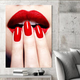 Posters Portrait Red Lips