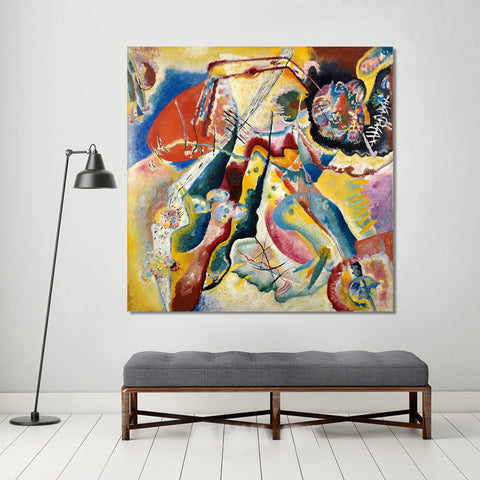 Embelish Abstract Visual Works Wassily Kandinsky Modern Home Decor