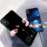 Cover Cute Cartoon Love Heart Silicone TPU Phone Case