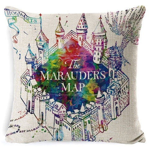 Harry Potter Pillow Cotton Linen Goblet of Fire