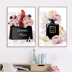 Book Perfume Flower Paris Posters
