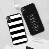 Silicone Cover Couple Case For iPhone X XR XS 6 6S 7 8 Plus 5 5S SE Lover