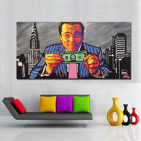 Man And Money Poster Print Wall Art