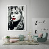 Vogue Angelina Jolie Posters and Prints Fashion