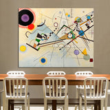 Embelish 1 Pieces Large Abstract Wall Posters By Wassily Kandinsky No Frame