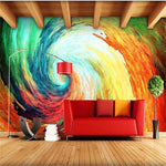Custom 3d photo wallpaper for walls mural