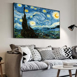 Van Gogh Starry Night Famous Wall