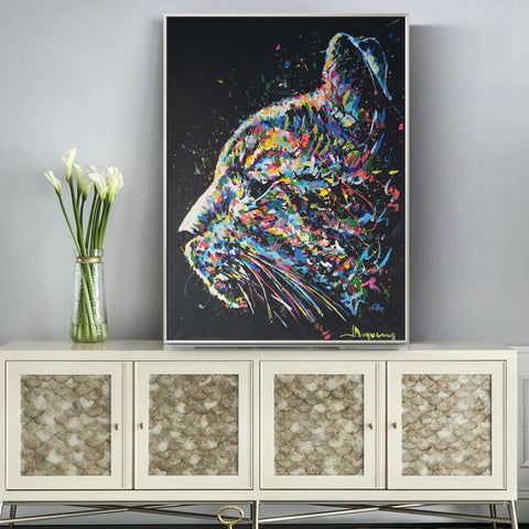 Watercolor Cat Canvas Prints