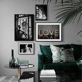Girl Retro Decorative Picture Wall Art