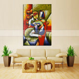 Modern Picasso Sexy Women Canvas painting Wall art for Bedroom Decor