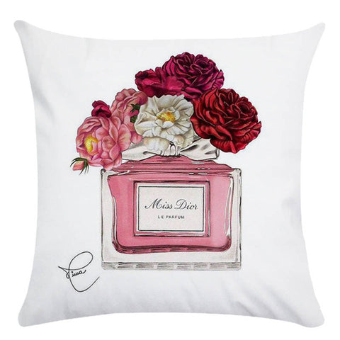 Flower Homer Decor Cushion Cover Throw Pillowcase Pillow Covers 45 * 45cm Sofa