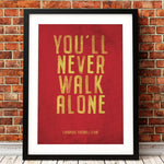 You'll Never Walk Alone Canvas Art