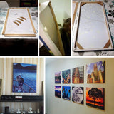 DIY Wood Frame For Paintings Posters Pictures Canvas Stretched Wooden Frame