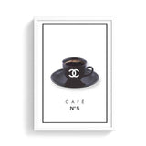 Modern Fashion Cafe Cup Photography  Shop Art Canvas