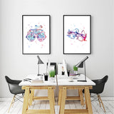 Trial Frame Optometrical Tools Art Optical Poster Prints