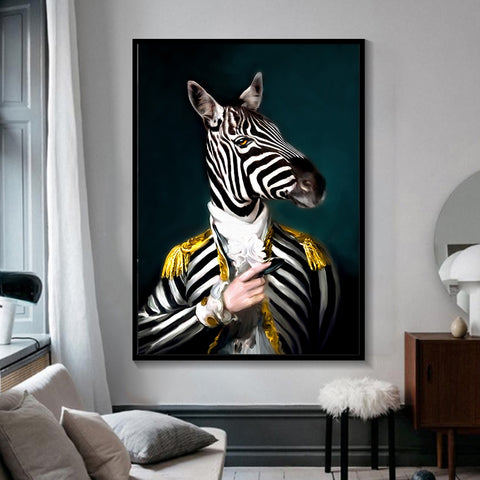 Black and White Animals Wall Art