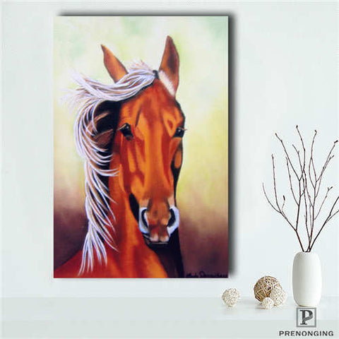Custom,horse_colt  Printing Cloth Fabric Wall Art