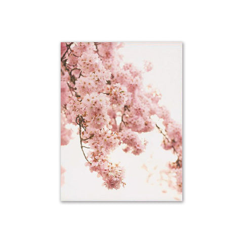 Style Sea Beach Decorative Pink Flower Wall Art