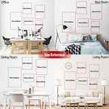 Toilet Rules Wall Art Canvas Painting Modern Funny Bathroom Rules