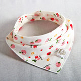 Baby Bibs Waterproof Triangle Cotton Cartoon Child