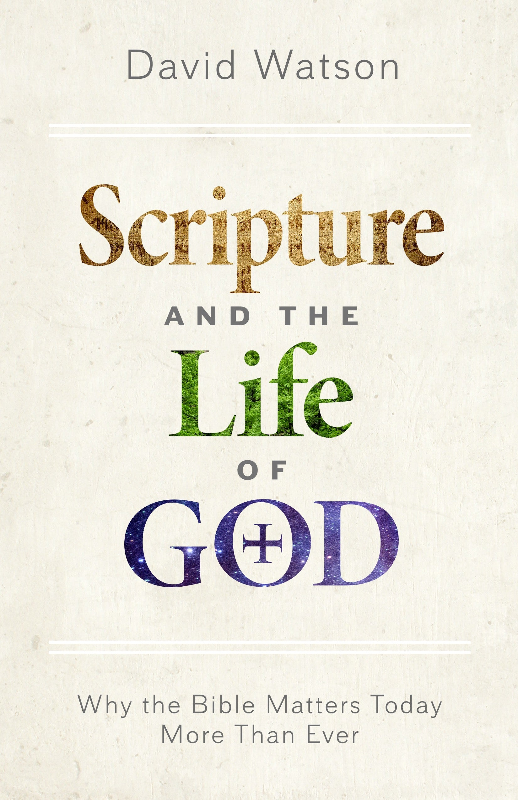 scripture and the life of god seedbed