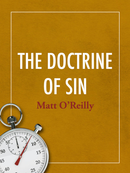 doctrine of sin Many christians who profess to believe in the doctrine of original sin do not know what it teaches even more christians are ignorant of its history and origin:.
