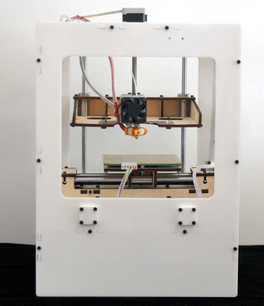 Porcelain white version of mbot 3d printer come out