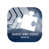 Audio and Video Module for FotoWeb