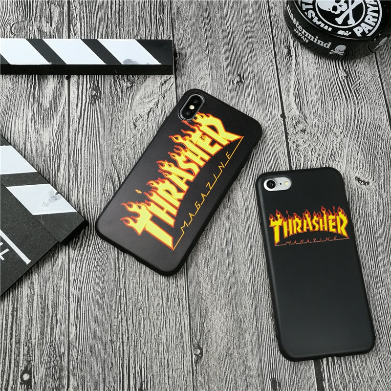 coque iphone x thrasher