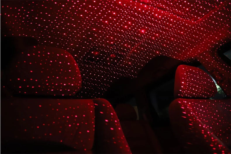 Car and Home Ceiling Romantic USB Night Light For Party Xmas. Plug and Play
