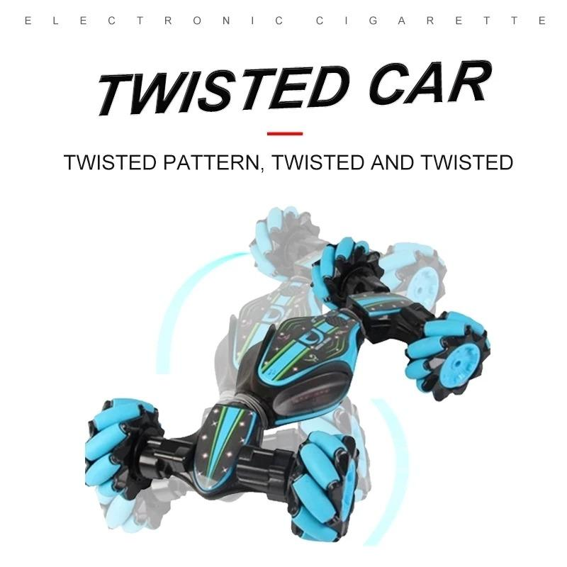 CHRISTMAS LIMITED TIME OFFER-GESTURE CONTROL DOUBLE-SIDED STUNT CAR