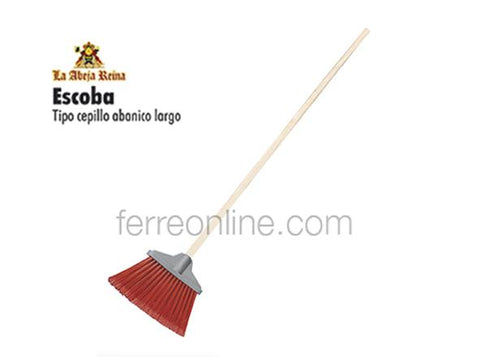 ESCOBA ABANICO ABEJA REYNA LION TOOLS 8052 (INCLUYE BASTON)