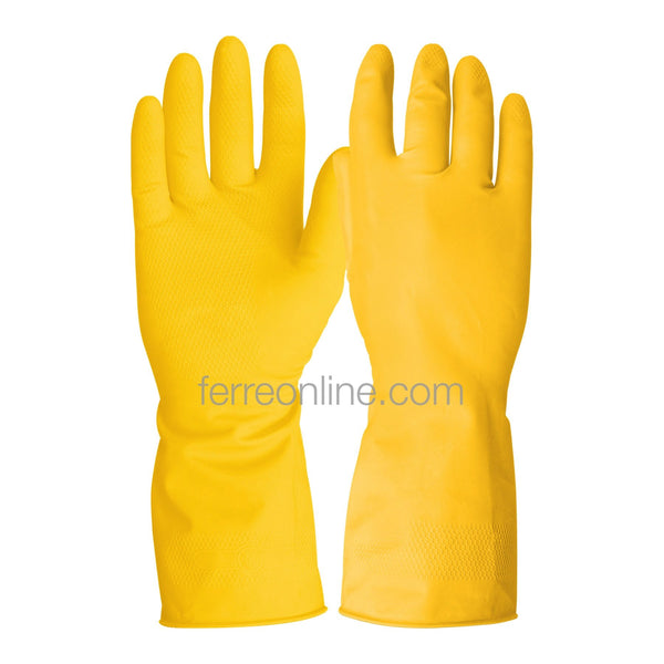 GUANTES DE LATEX PUÑO LARGO PRETUL 23260 GU-LIM-MP (MEDIANO)