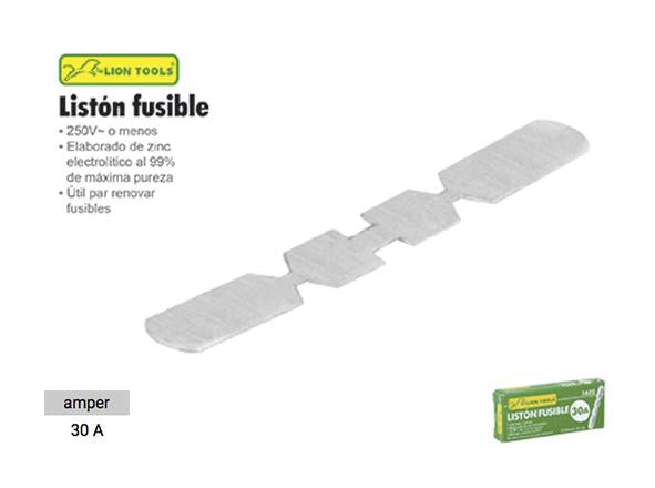 LISTON FUSIBLE 30 AMP LION TOOLS 1622