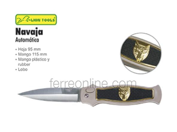 "NAVAJA 4"" LOBO LION TOOLS 6585"