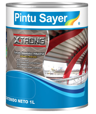ESMALTE NEGRO MATE 250ML SAYER XTRONG EX-1100.10