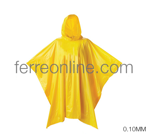 PONCHO AMARILLO 0.10MM TOOLCRAFT TC2764
