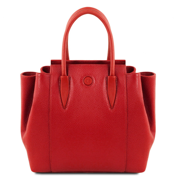 Tulipan - Leather handbag | TL141727 -  www.sanroccoitalia.it - Leather handbags