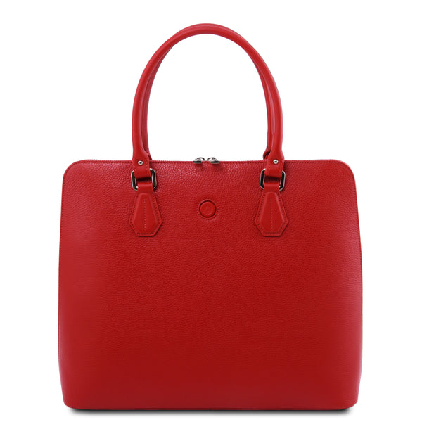 Magnolia - Leather business bag for women | TL141809 -  www.sanroccoitalia.it - Business bag