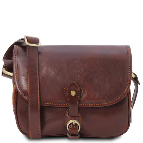 Alessia - Leather shoulder bag | TL142020