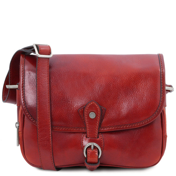 Alessia - Leather shoulder bag | TL142020 - Leather shoulder bags -  sanroccoitalia.it